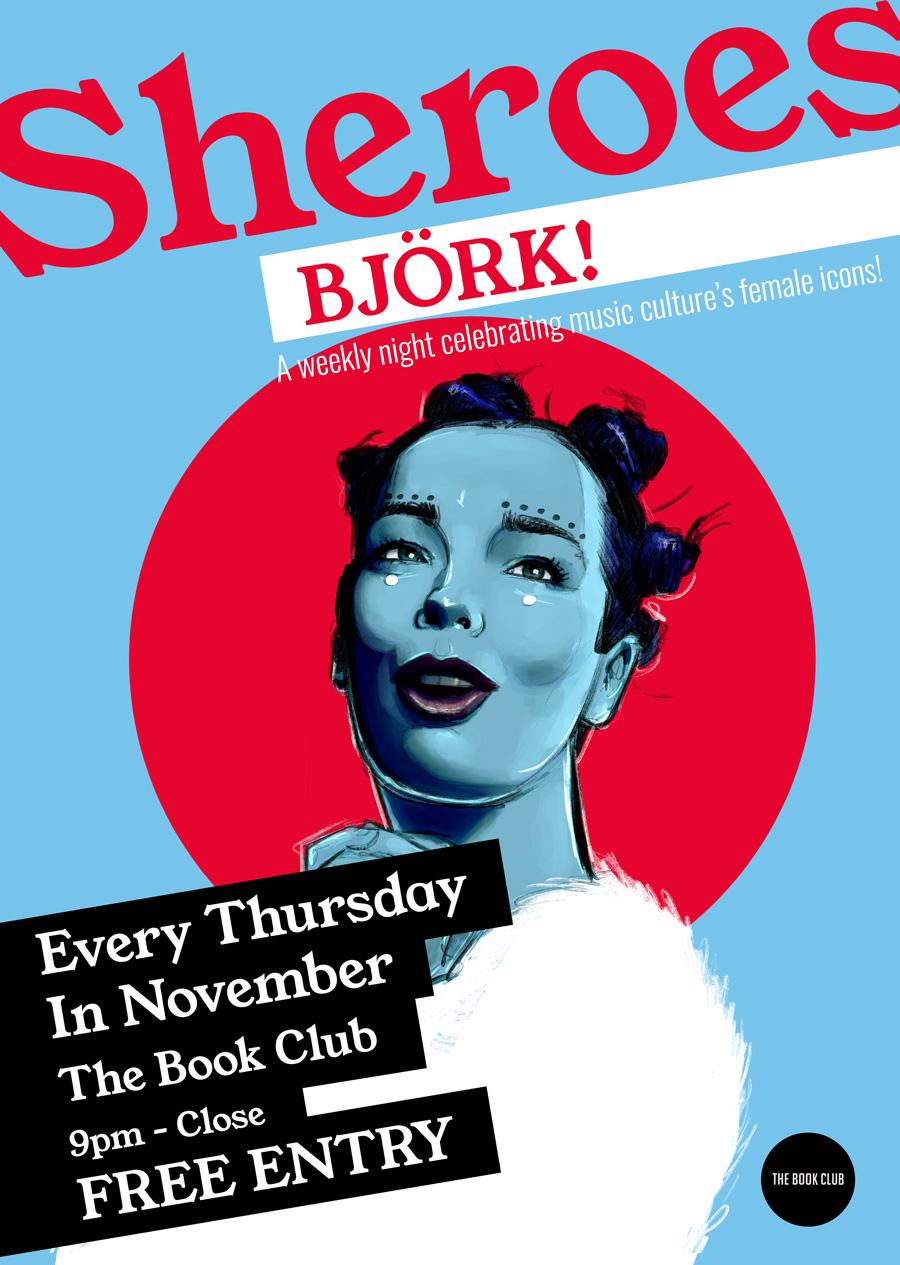 Sheroes: Björk – every Thursday in November
