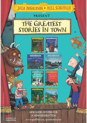 Spinning Stories With The Gruffalo (3+)