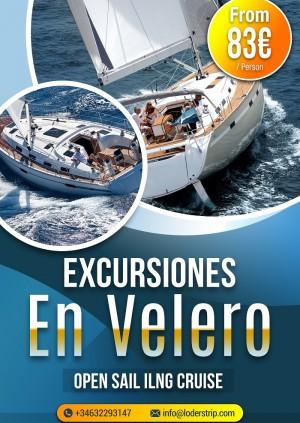 Excursiones en Velero de Lujo / Luxury Open Sailing Cruise