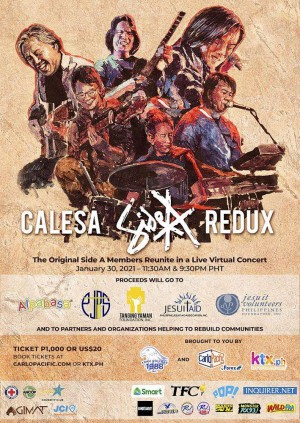 Calesa : Side A Redux (9:30pm - 11:30pm)