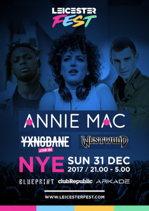 Leicester fest nye 2018 leicesterfest buy tickets leicester fest nye 2018 malvernweather Image collections