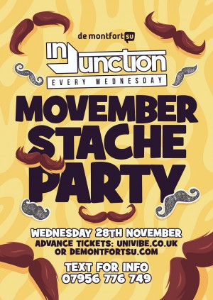 Injunction Stache Party
