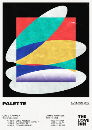 Palette curated by Dave Harvey