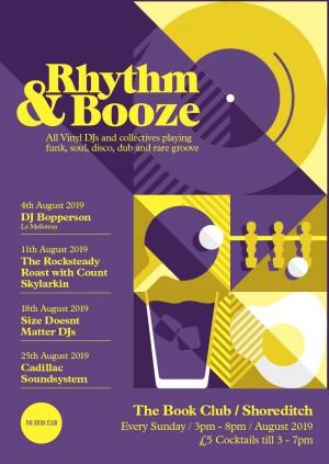 Rhythm & Booze w/DJ Bopperson - All Vinyl Sunday Sessions!