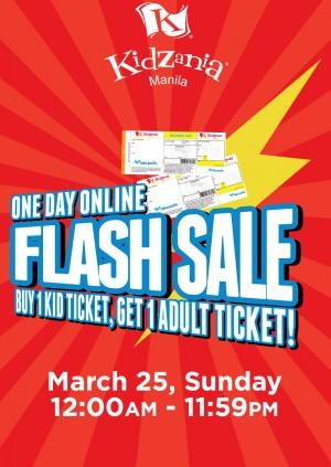 KidZania Manila Flash Sale Weekday Ticket (HOLIDAY)