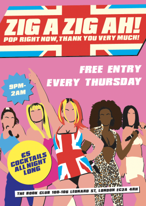 Zig A Zig Ah! - Free Entry! (Cancelled)