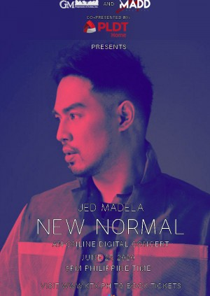 Jed Madela New Normal: An Online Digital Concert