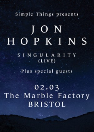 Jon Hopkins - Live at the Marble Factory, Bristol