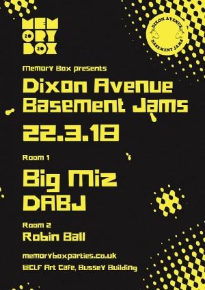Memory Box x Dixon Avenue Basement Jams
