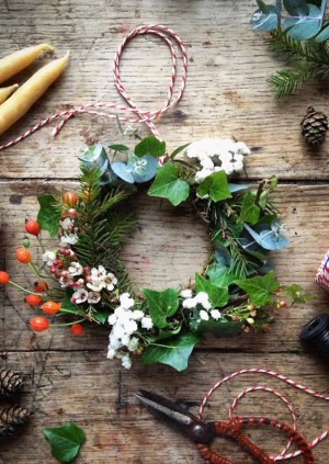 Grimms' Winter Wreath-making