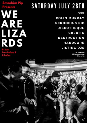Scroobius Pip Presents: We.Are.Lizards