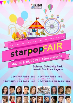 Star Pop Fair 2019
