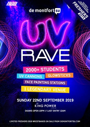 Freshers UV Rave