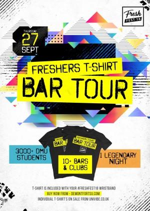 Freshers T-Shirt Bar Tour