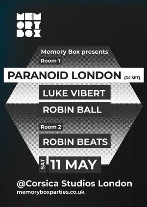 Memory Box with Paranoid London and Luke Vibert