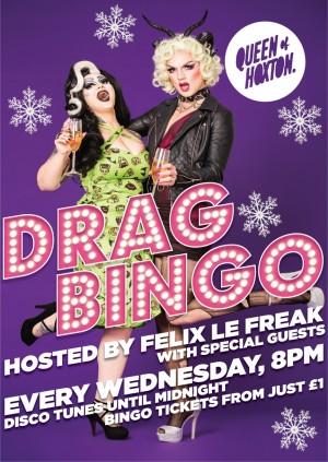 Drag Bingo! - JINGLE YOUR BALLS, BABY