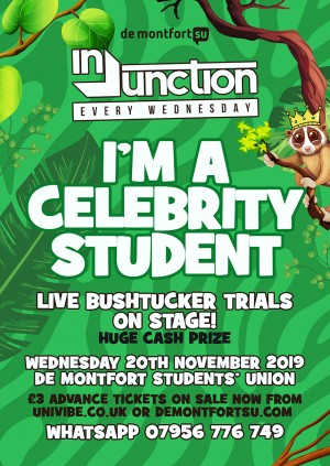 Injunction I'm a Celeb Student