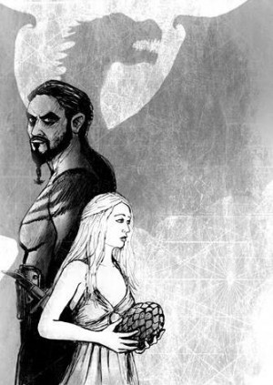 Art Macabre Death Drawing: Game of Thrones