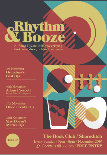 Rhythm & Booze  W/ Disco Freaks - Free Vinyl Session
