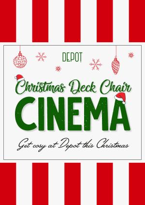DEPOT Christmas Deck Chair Cinema