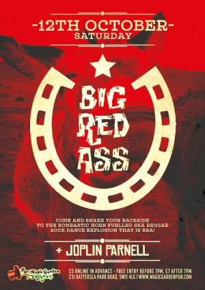 Big Red Ass + DJ Joplin Parnell