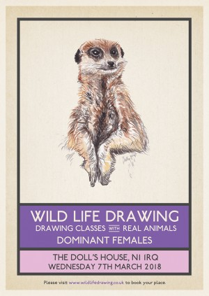 Wild Life Drawing: Dominant Females in the Animal Kingdom