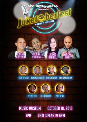 The Funny Juans JOKETOBERFEST