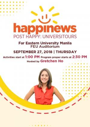 Happinews Universitour at FEU