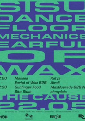 DJs in The Yard | Sisu x Dancefloor Mechanics x Earful of Wax