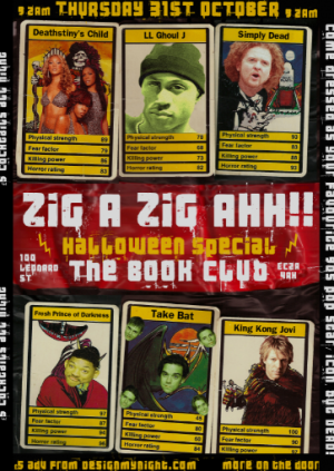 Zig A Zig AHH! Halloween  Party