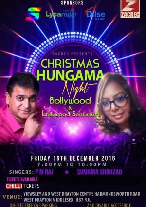 Christmas Hungama Night