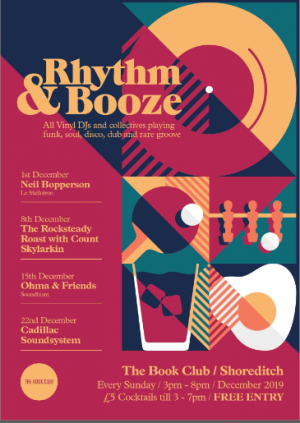Rhythm & Booze - Free Vinyl Session Every Sunday