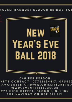 New Years Eve Ball 2018