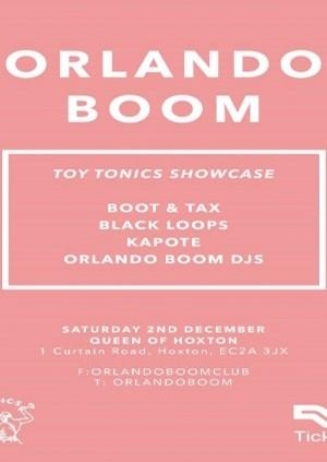 Orlando Boom x Toy Tonics
