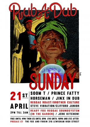 Ready Fox Reggae Present: Rub A Dub Sunday