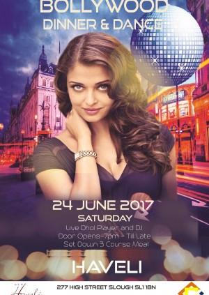 Bollywood Dinner & Dance @ Haveli Slough
