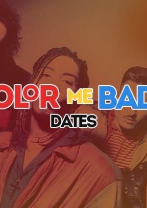 Color Me Badd Dates