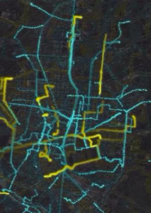 Scibar - Walking with GPS