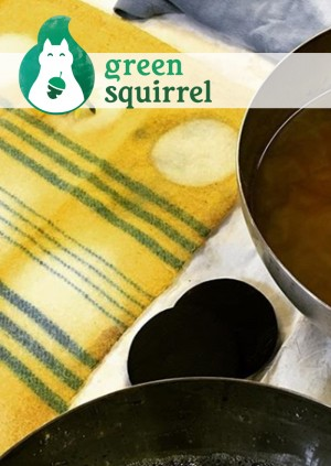 Natural dyeing & printing / Lliwio naturiol ac argraffu