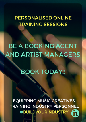 INfocus Online Courses  - BE A Booking Agent or Artist Manager