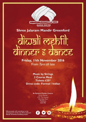 Diwali Mehfil Dinner & Dance
