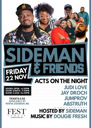 Sideman and Friends Comedy Special