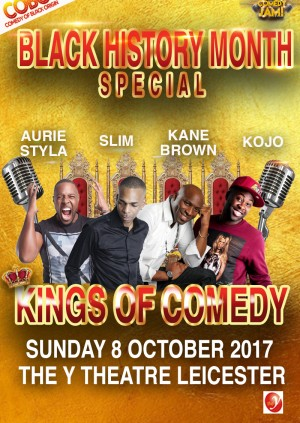 COBO - Kings Of Comedy - Black History Month Special