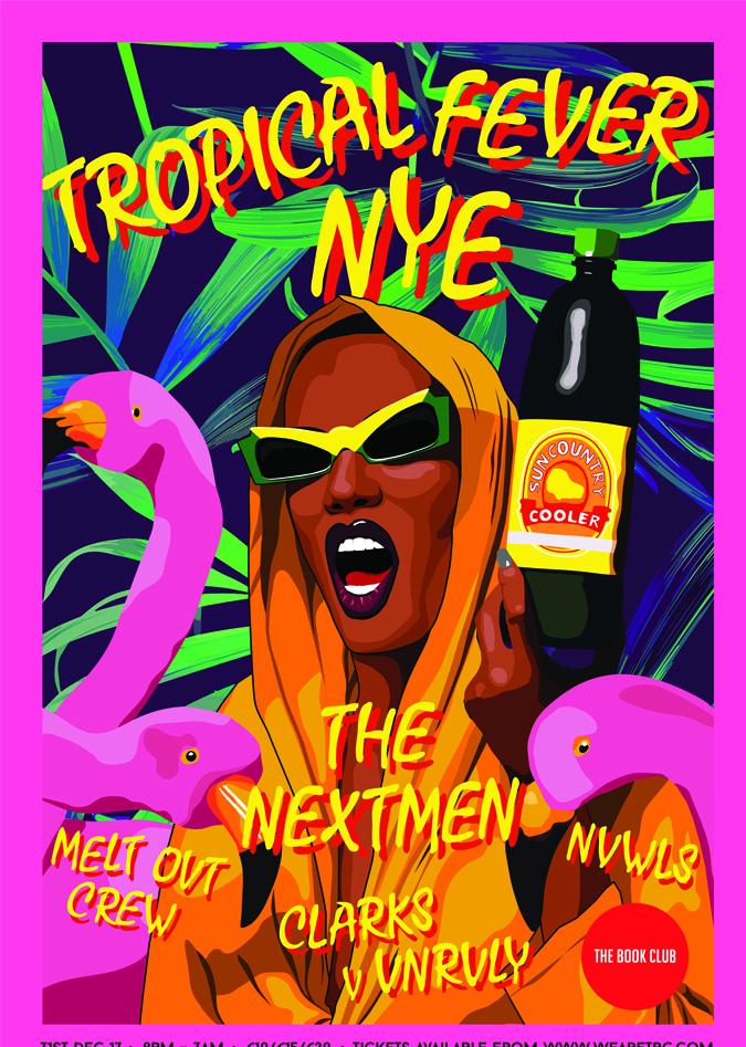 Tropical Fever NYE w/ The Nextmen & More