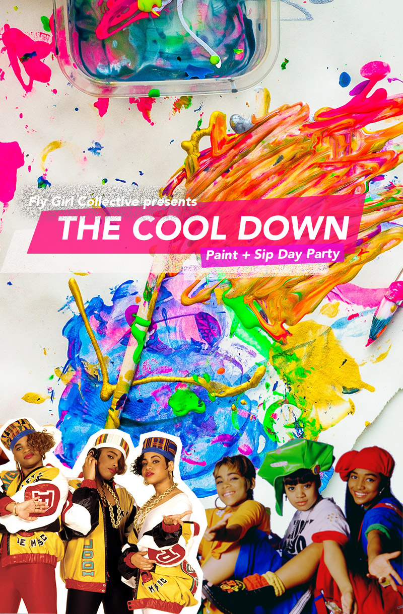 Fly Girl Collective presents: The Cool Down x Sip & Paint Party