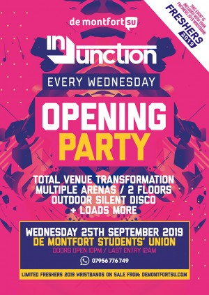 Injunction Opening Party