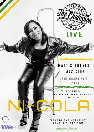 Ni-Cola - Champion Tour MANCHESTER