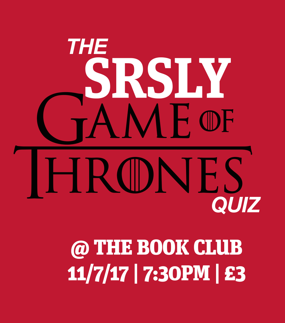 The SRSLY Game of Thrones Quiz