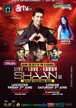 Live Love Laugh - Shaan SE - Leicester