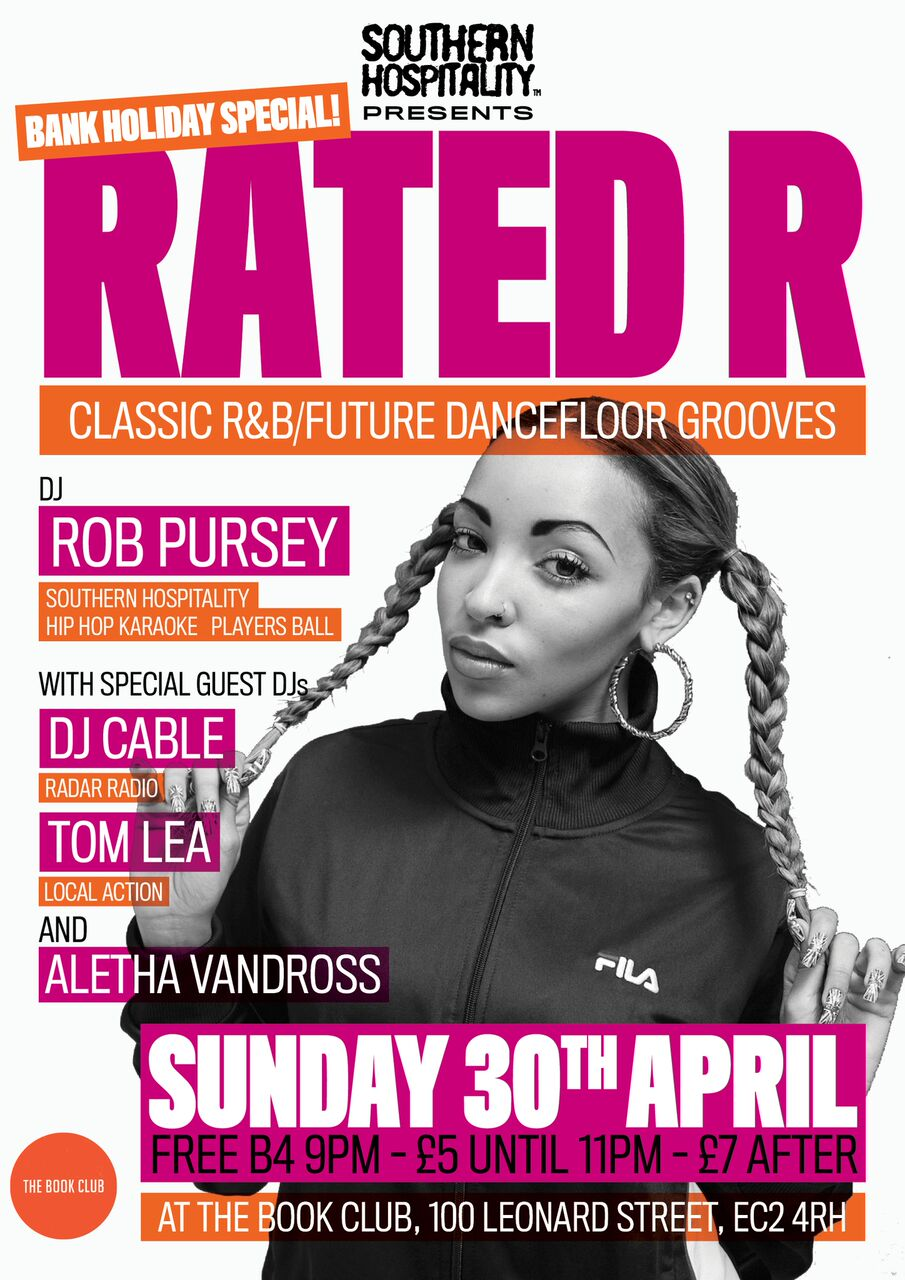 Rated R Bank Holiday Special